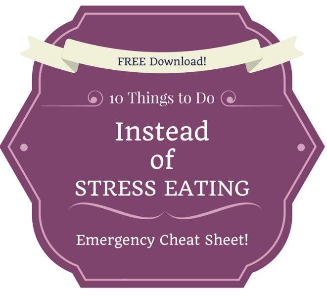 Are You An Emotional Eater We Share Practical Tips To: Stress Eating Solutions Pinterest