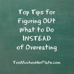 what to do instead of eating