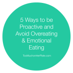 avoid emotional eating