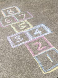 hopscotch 187x250 The First Step to Avoiding Procrastination, Stress Eating and Unhappiness