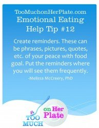 Emotional Eating Help Tip 12 193x250 Emotional Eating Help Video Tip #12: Creating Reminders that Work