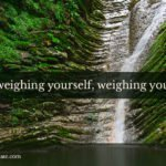 Is weighing yourself, weighing you down?
