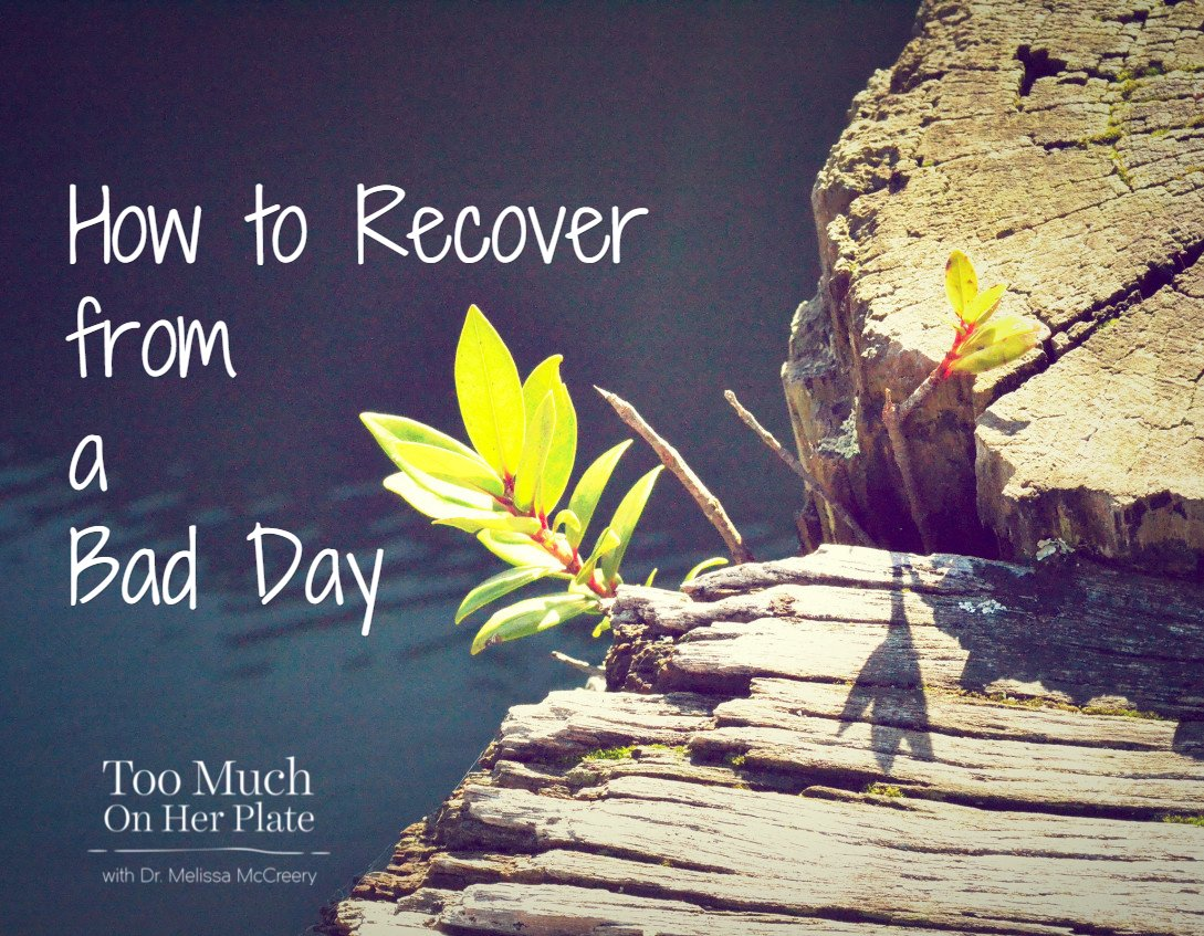 How to Recover After a Bad Day at School